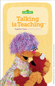 Talking is Teaching Book