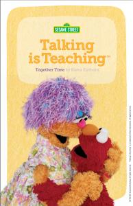 Talking is Teaching Book