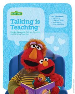 talking is teaching parent guide